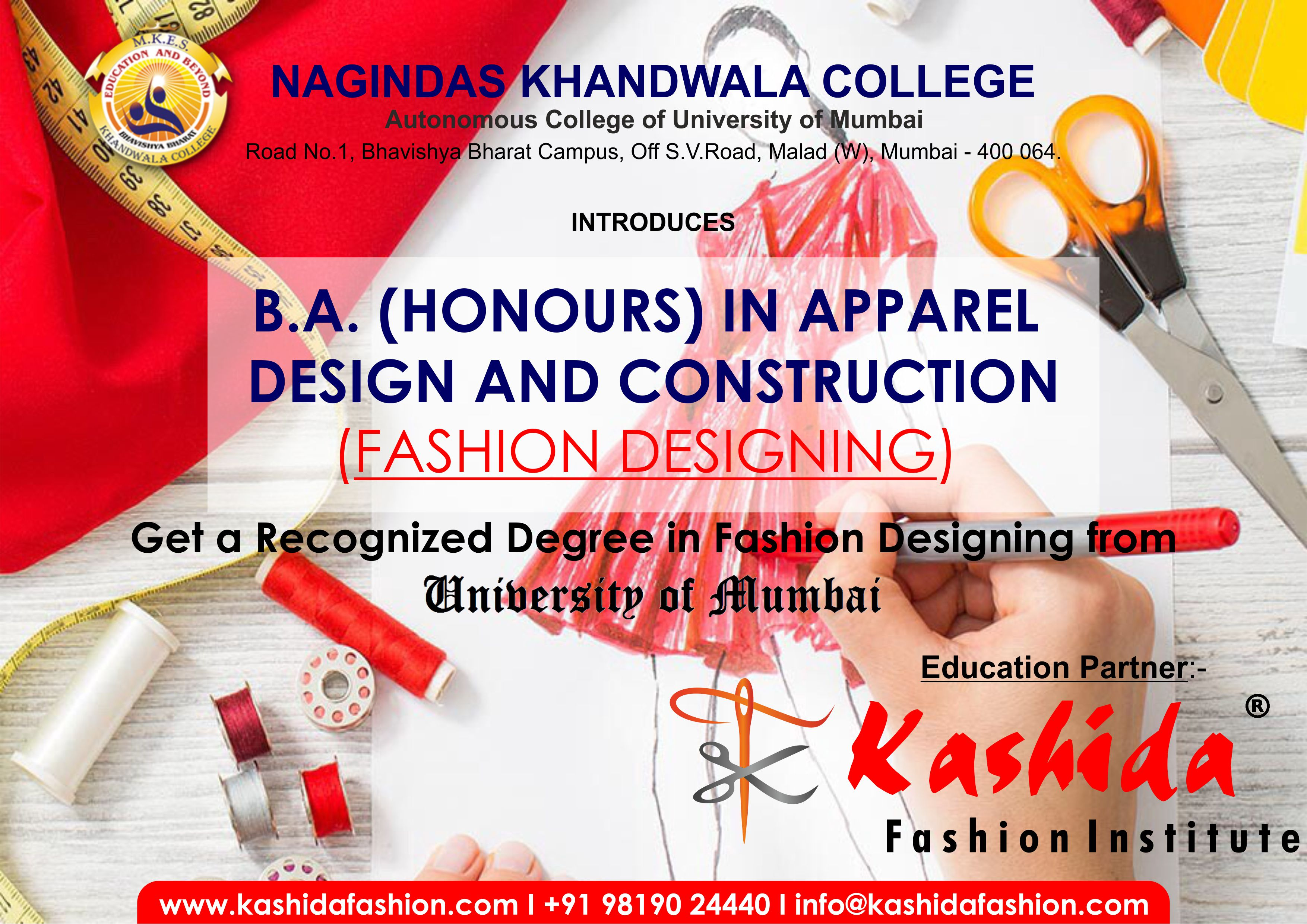 Welcome to Nagindas Khandwala College ::